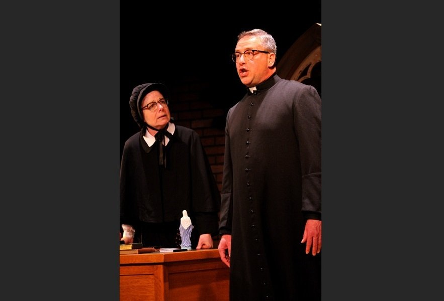 Geoff Fiorito, actor, stage, play, Doubt A Parable